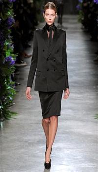 Yuliana D at Givenchy Fall/Winter 2011